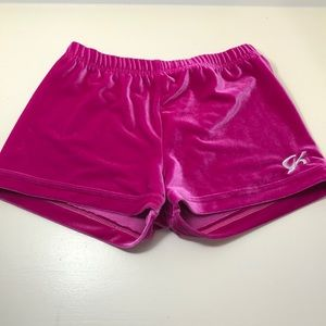 Pink GK Micro Mini Gymnastics Shorts